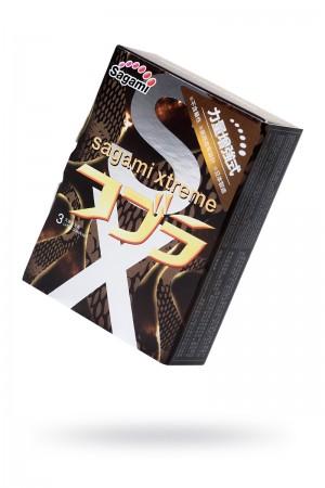 Презервативы латексные Sagami Xtreme Cobra, 3 шт