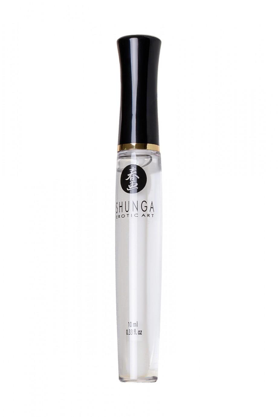 Блеск для губ Shunga «Божественное удовольствие», эффект тепла, прохлады и покалывания, 10 мл