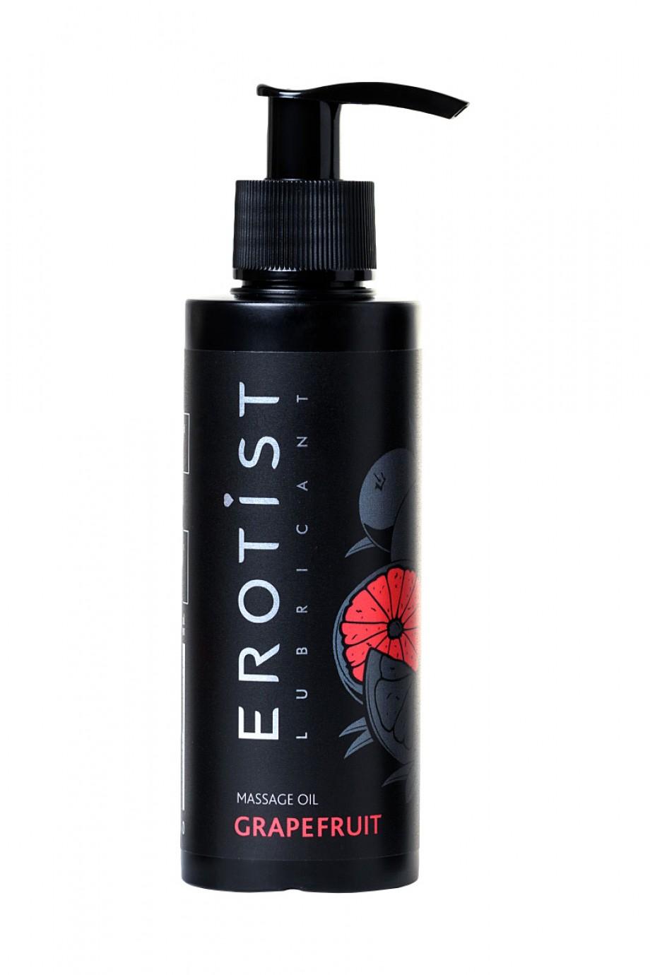 Массажное масло Erotist GRAPEFRUIT, съедобное, грейпфрут, 150 мл