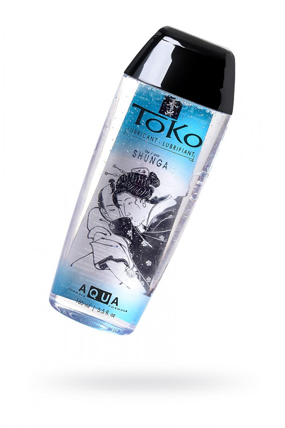Лубрикант Shunga Toko Aqua ультра-шелковистый, 165 мл