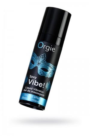 Гель для массажа Orgie Sexy Vibe Liquid Vibrator с эффектом вибрации, 15 мл