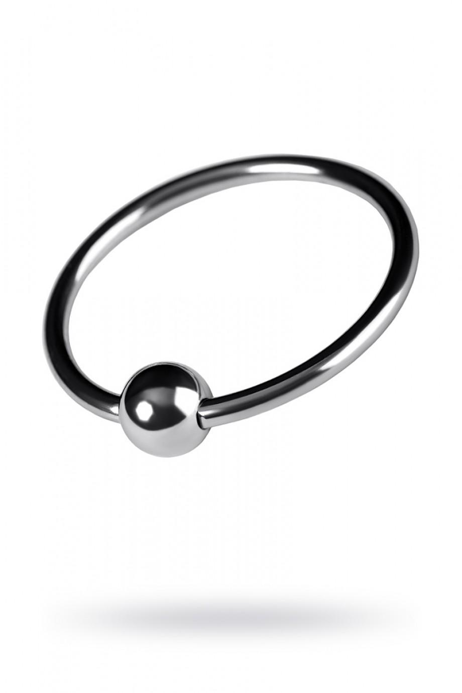 Эрекционное кольцо Metal by TOYFA, серебристое