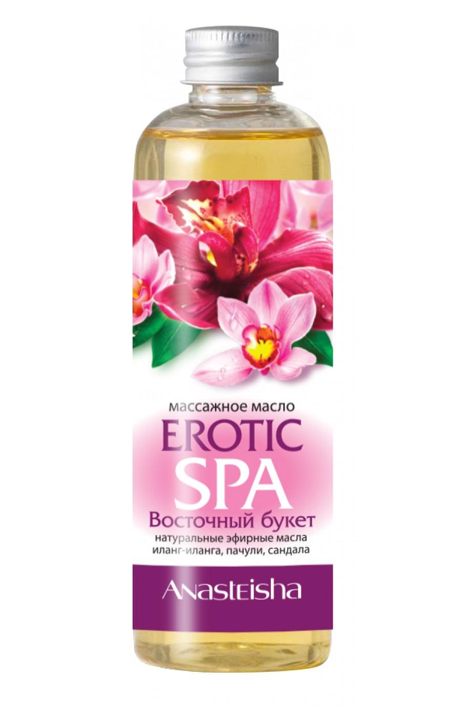 Массажное масло Erotic SPA Восточный букет 150мл