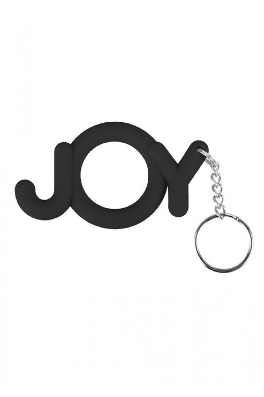 Эрекционное кольцо Joy Cocking, черное